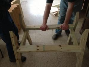 Stellet HTBH Legs Assembled