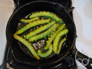 Fried hornworms